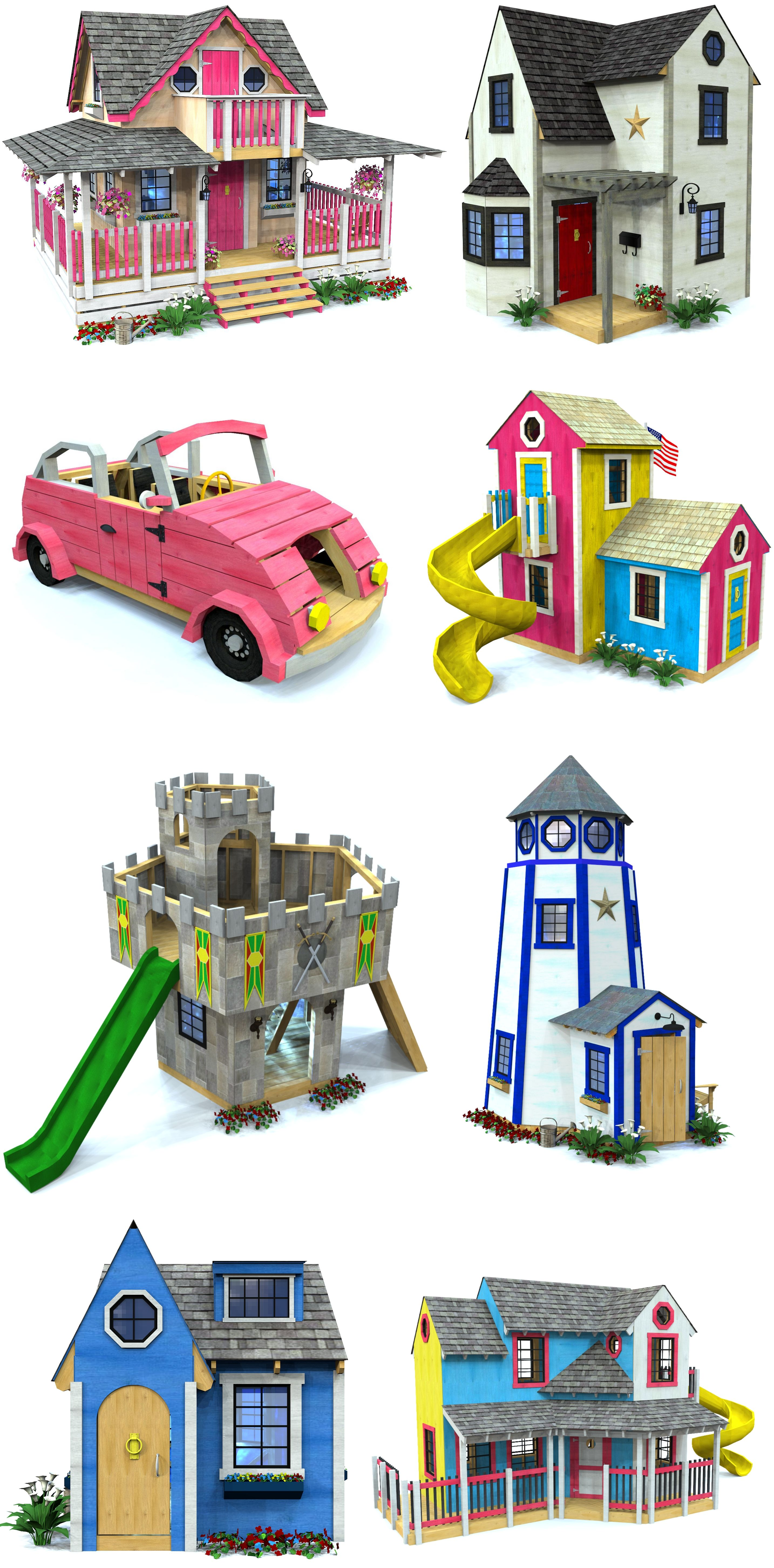 Top 10 Girl s Playhouse Plans