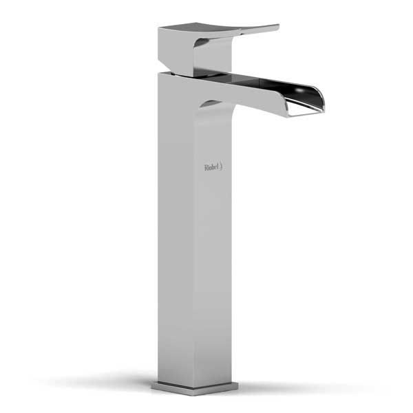 Riobel waterfall faucet (for a vessel sink). For the powder room ...