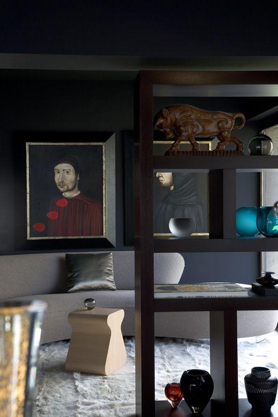 dark and broody Black  White Pinterest Salón, Decoracion - diseo de interiores de departamentos