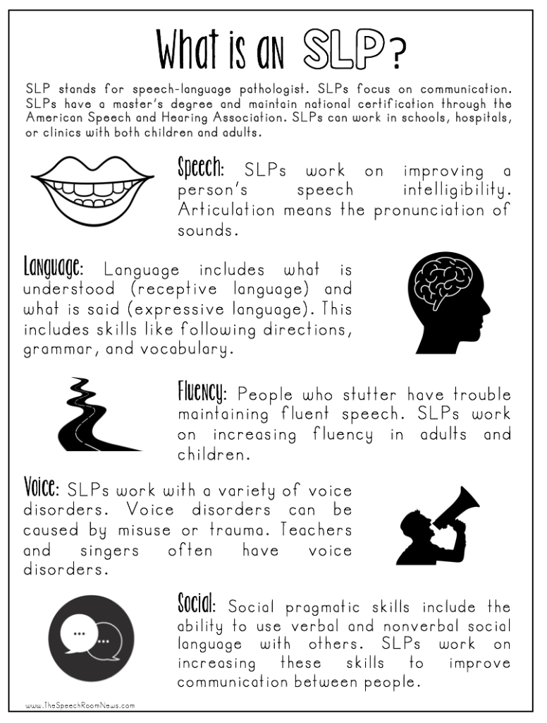 information about speech therapy The rcslt is the professional body for speech and language therapists our role is to provide leadership for the speech and language therapy profession in the delivery of high-quality care, to promote.
