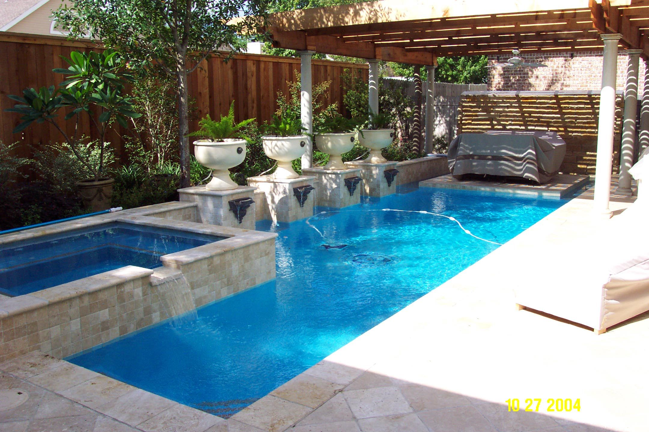 Small backyards with pools google search thereus no place like