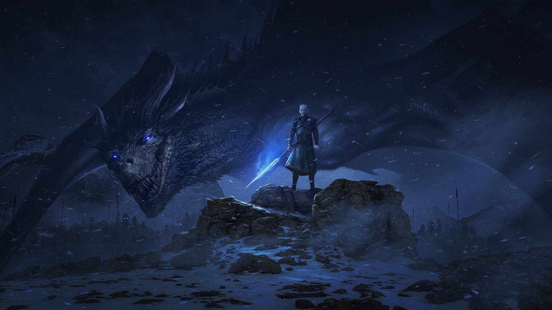 Dragon Night King Game Of Thrones Season 8 5s Ultra Hd