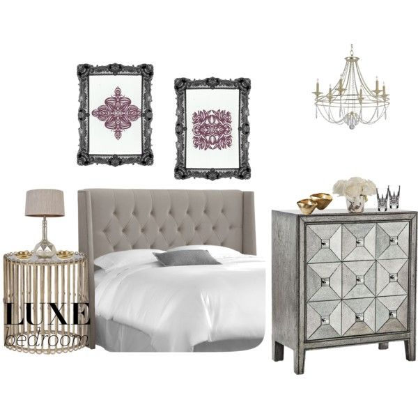 """""""Luxe Bedroom Contest!"""" by repchamp on Polyvore"""