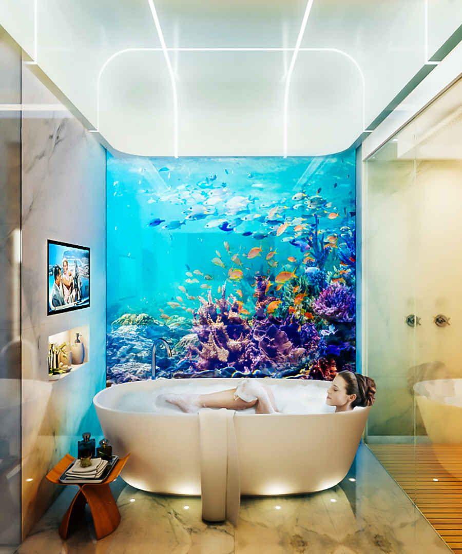 The Floating Seahorse Dubai - Underwater Housing Development ...