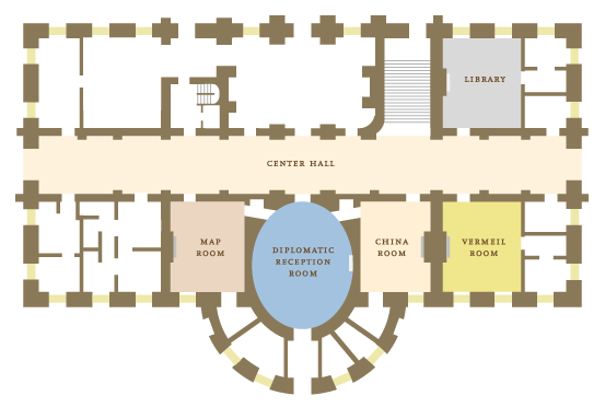 White House Floorplan Thepeopleshouse Washingtondc House Floor Plans Floor Plans White House