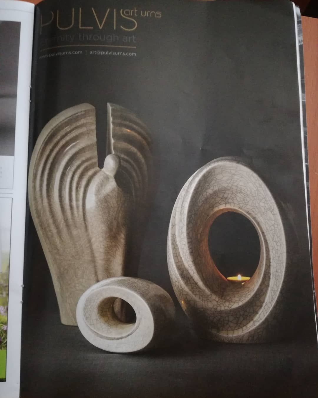 Pin auf Ceramic Art Urns For Human Ashes By Pulvis