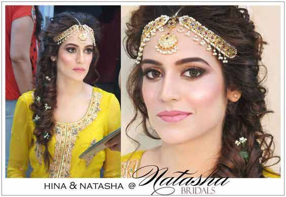 Hairstyles For Mehndi Party : Matha patti and mang tikka hairstyles for party 2018 mehndi