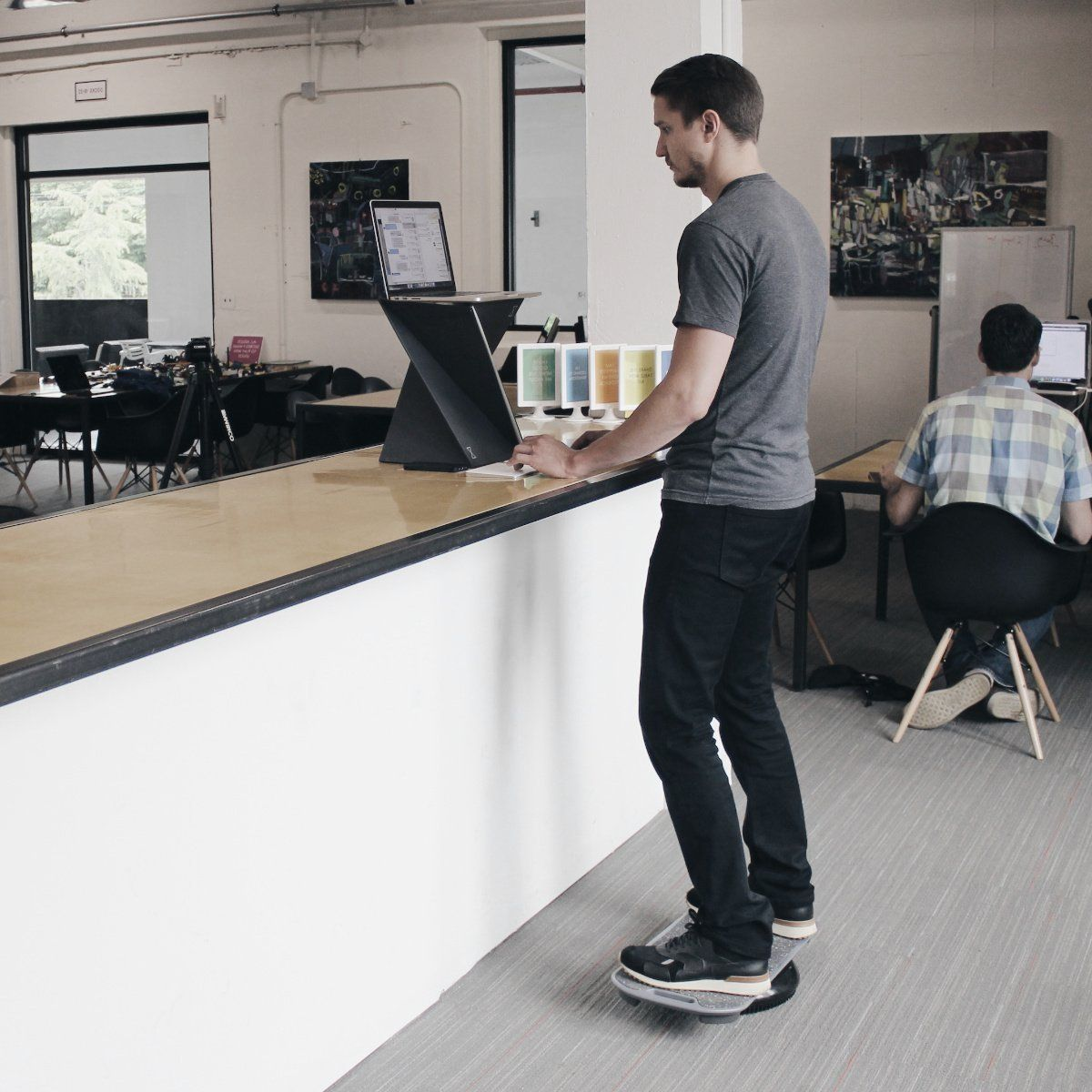 Standing Desk Balance Board Balance board, Standing desk
