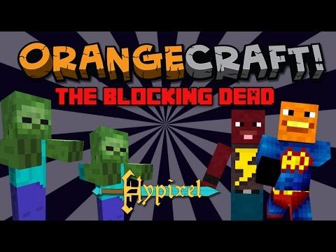 Annoying Orange Let S Play Minecraft Blocking Dead On Hypixel Youtube How To Play Minecraft Annoying Orange Lets Play