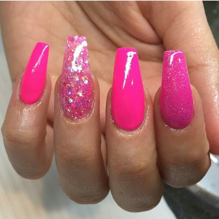 Stunning 43 Romantic Pink Nail Color 2019 to Try Now http