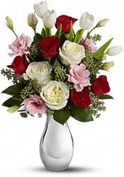 bouquet of roses with tulips - Google Search