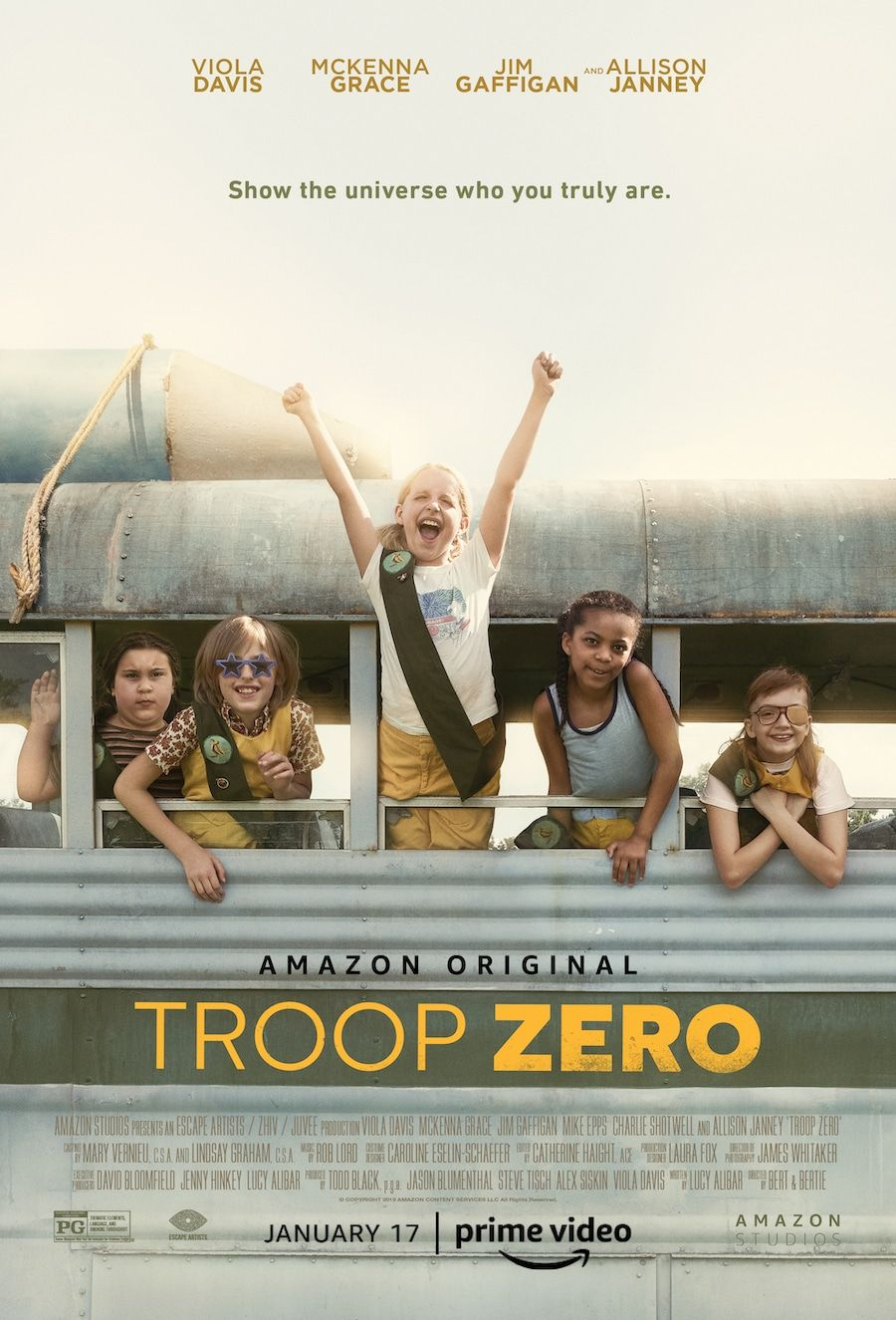 In My Troop Zero Parents Guide To The Movies I M Sharing My Review And Parental Guidance For This Amazon Original Film In 2020 Troops Parenting Guide Family Movies