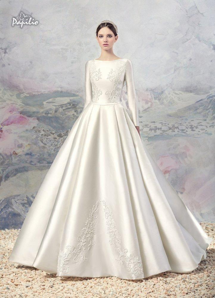 vintage-lace-a-line-wedding-dresses-2016-winter-fall-noble-long ...