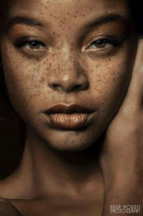 """""""Freckles """" models Kiaya Janel"""