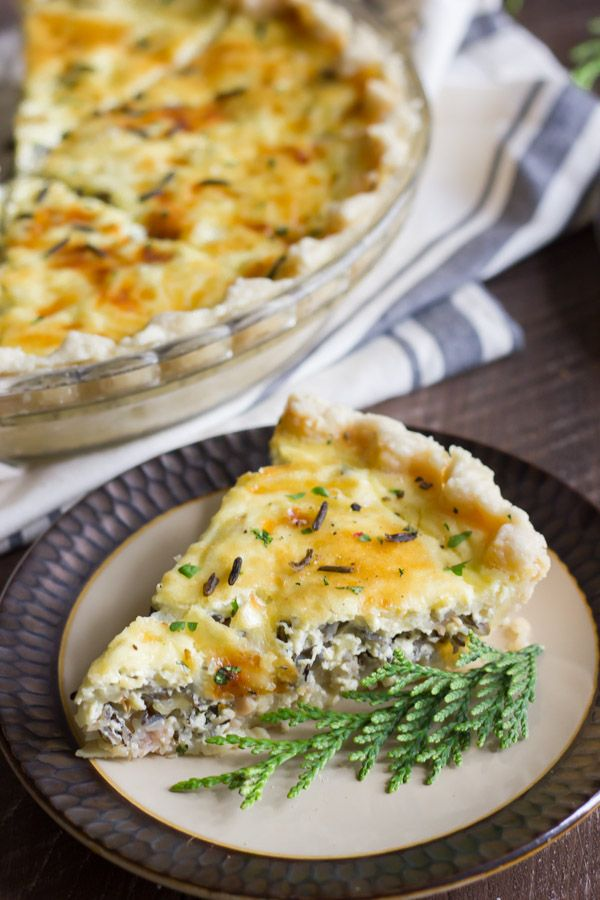 Cheesy Wild Rice Quiche Canadian Bacon Nutty Wild Rice And