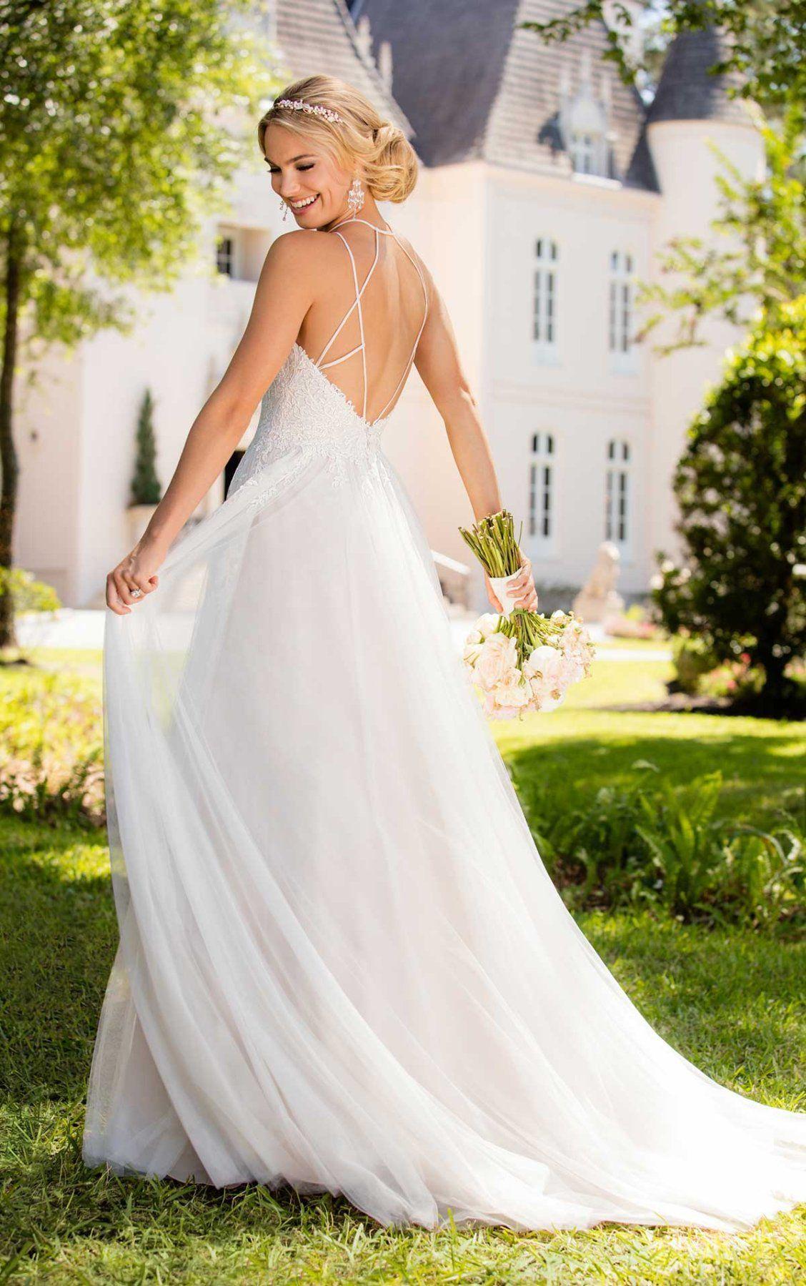 Elegant boho wedding dress stella york wedding dress and elegant