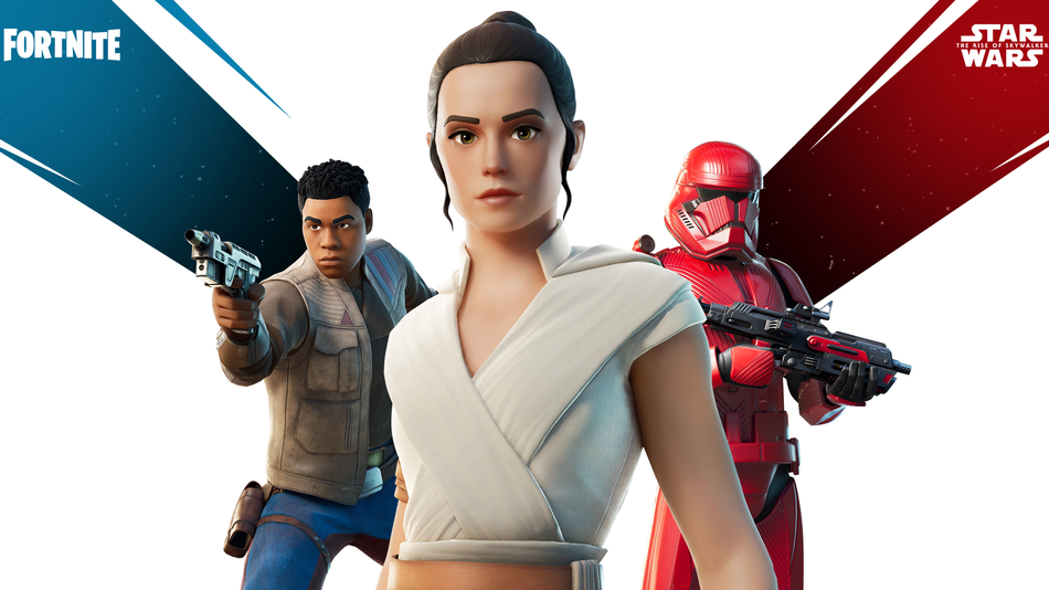 Fortnite X Star Wars Was A Giant Technical Mess But Also Now There Are Lightsabers Rey And Finn Rey Star Wars Star Wars Film