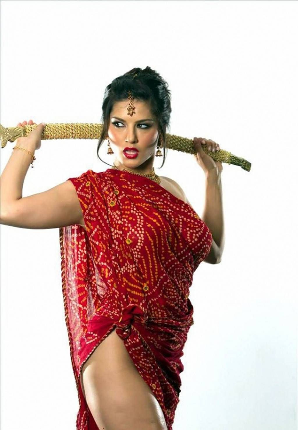 Indian Red Porn Complete asymmetric top idea | sunny leone | pinterest | saree, sunnies and