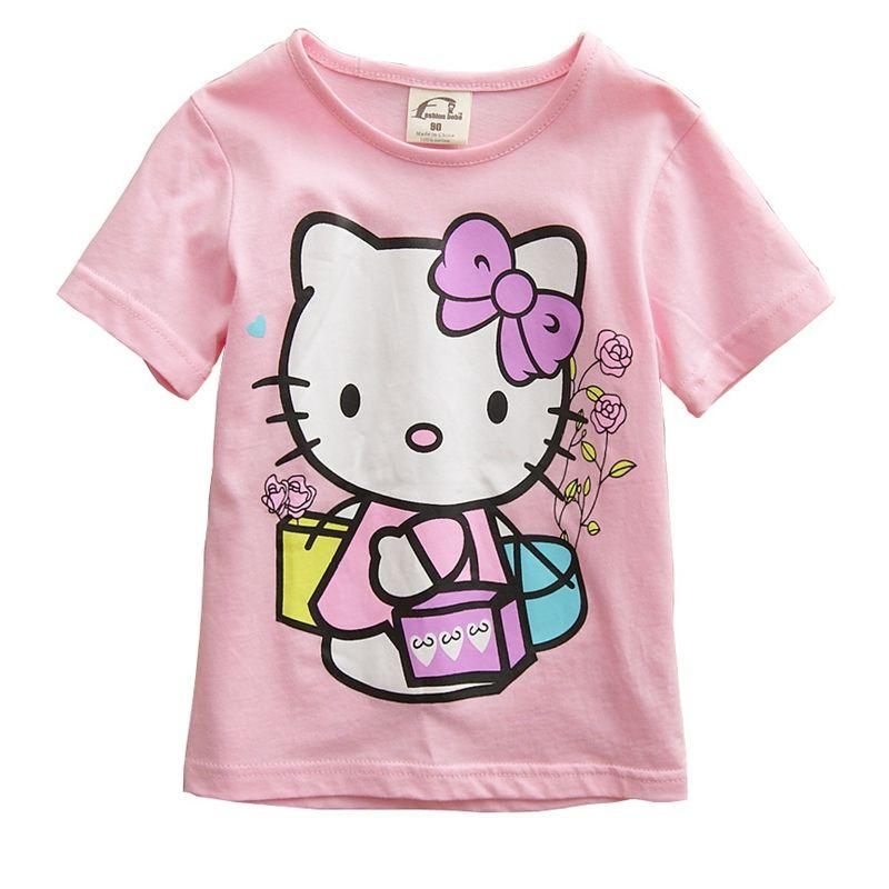 Hello Kitty T Shirt Price 9 99 Free Shipping World Of Hello Kitty Http Worldofhellokitty Com Ki Hello Kitty T Shirt Kids Garments Kids Outfits Girls
