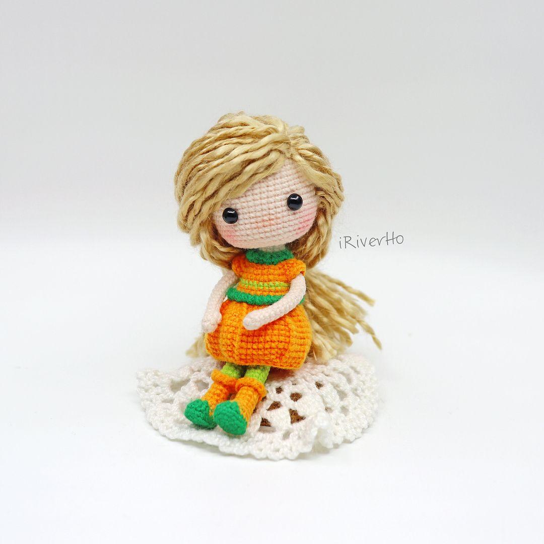 crochet #crochetdoll #doll #pumpkin #amigurumi #dollmaker #gifts ...