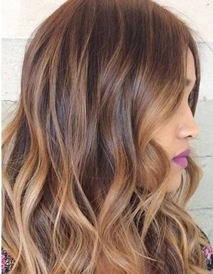 Ombré hair noisette en 2019 Cheveux noisette, Couleur