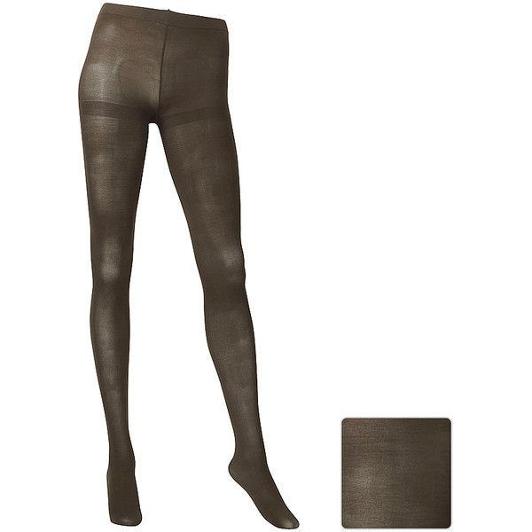 UNIQLO HEATTECH Tights ($15) ❤ liked on Polyvore featuring intimates, hosiery, tights, uniqlo tights and uniqlo