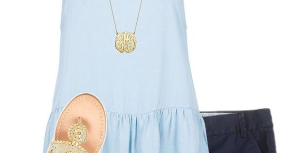 """RTD"" by evedriggers ❤ liked on Polyvore featuring J.Crew, Vineyard Vines, New Look, Jack Rogers, Alex and Ani and BaubleBar 