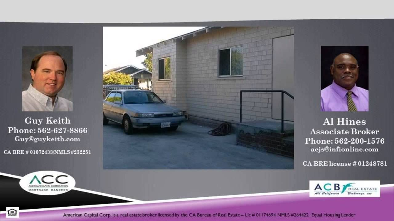 4 units on St Louis Street in Long Beach 90804 The unit