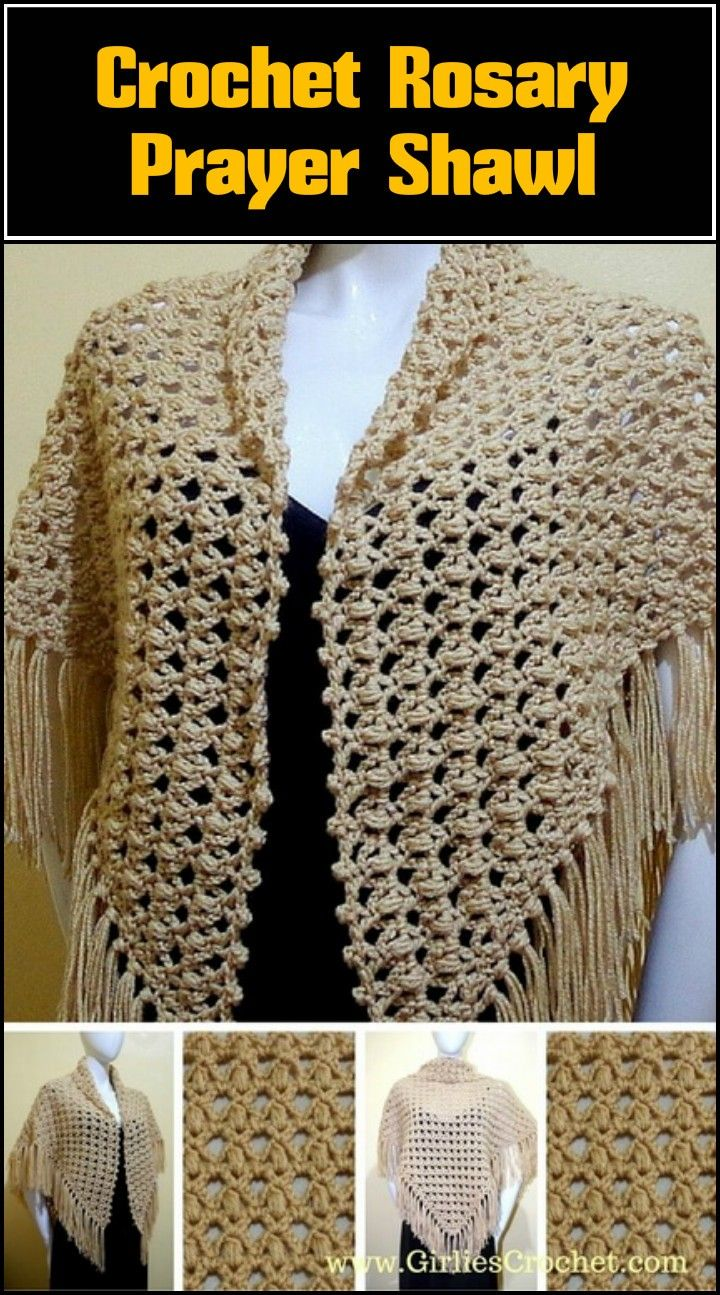 100 Free Crochet Shawl Patterns - Free Crochet Patterns | Tücher ...