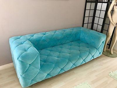 designer couch sofa turkis modern buro wohnzimmer ankleidezimmer 2 94 meter top