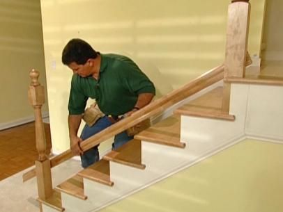 Best How To Install New Stair Treads And Railings Diy Stair 400 x 300