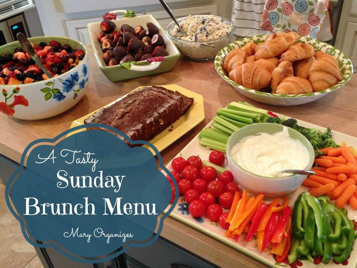 Sunday Brunch Menu Homemade Brunch Easy Brunch Brunch Menu