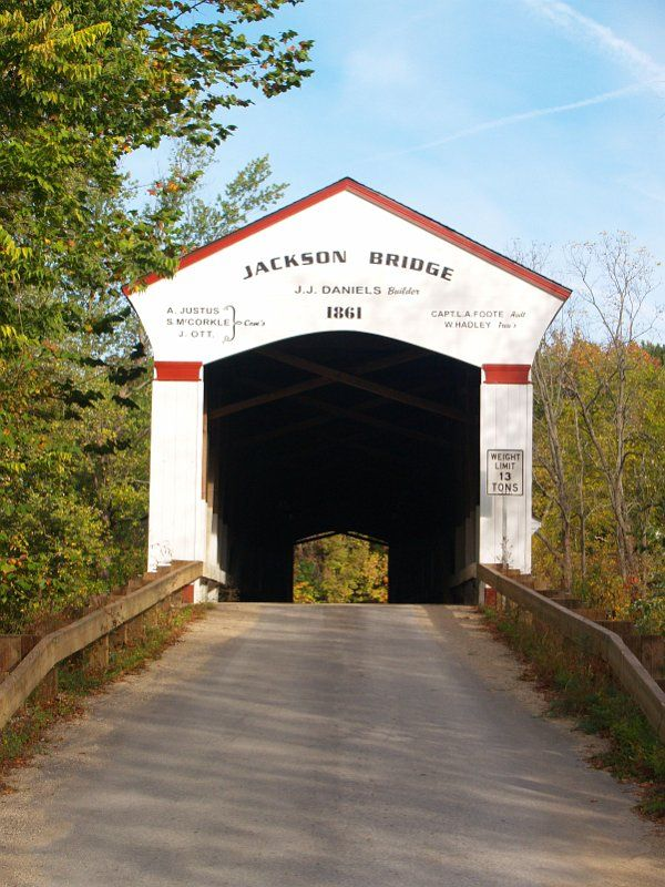 Jackson Bridge, Parke Co. IN, Built in 1861 over Sugar Creek, 207 Ft- June 2011