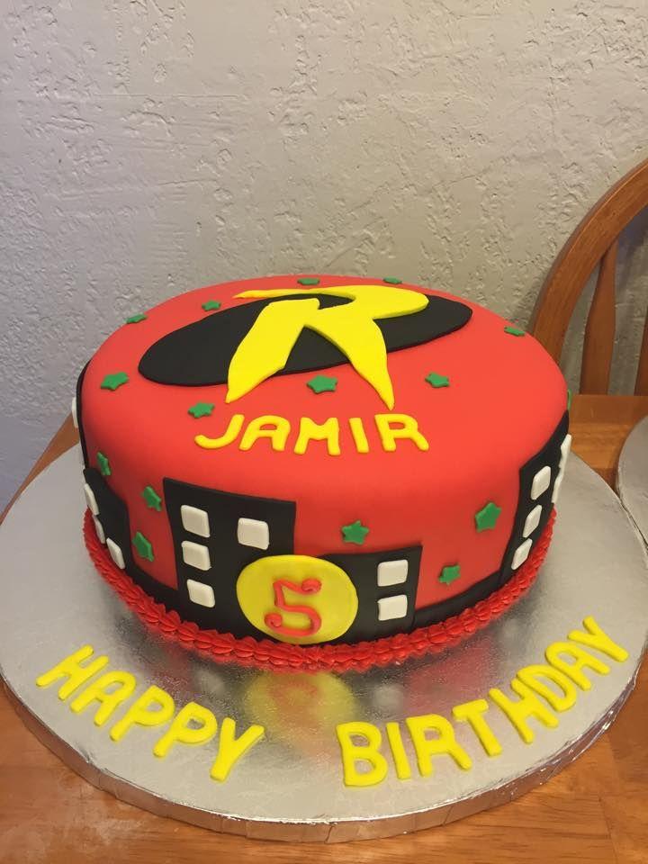 Robin Birthday Cake Cakes And Stuff Pinterest Birthday Cakes