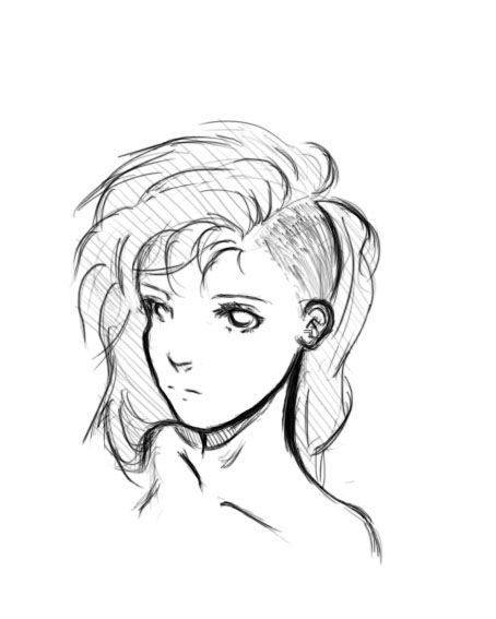 Undercut Drawing : undercut, drawing, Undercut, Silverskin-Geomancer, DeviantART, Drawings,, Short, Drawing,, Drawings