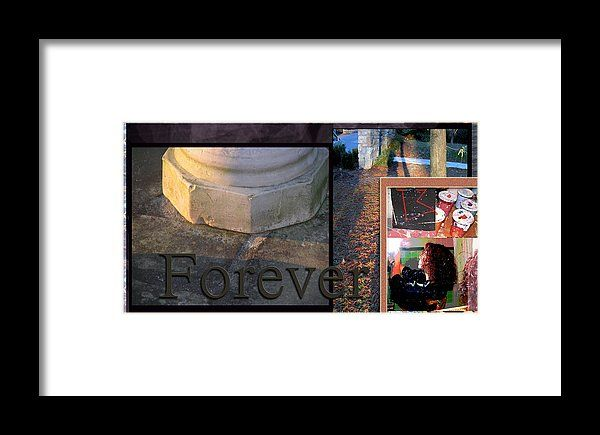 Forever Framed Print featuring the photograph Forever by Janis Kirstein