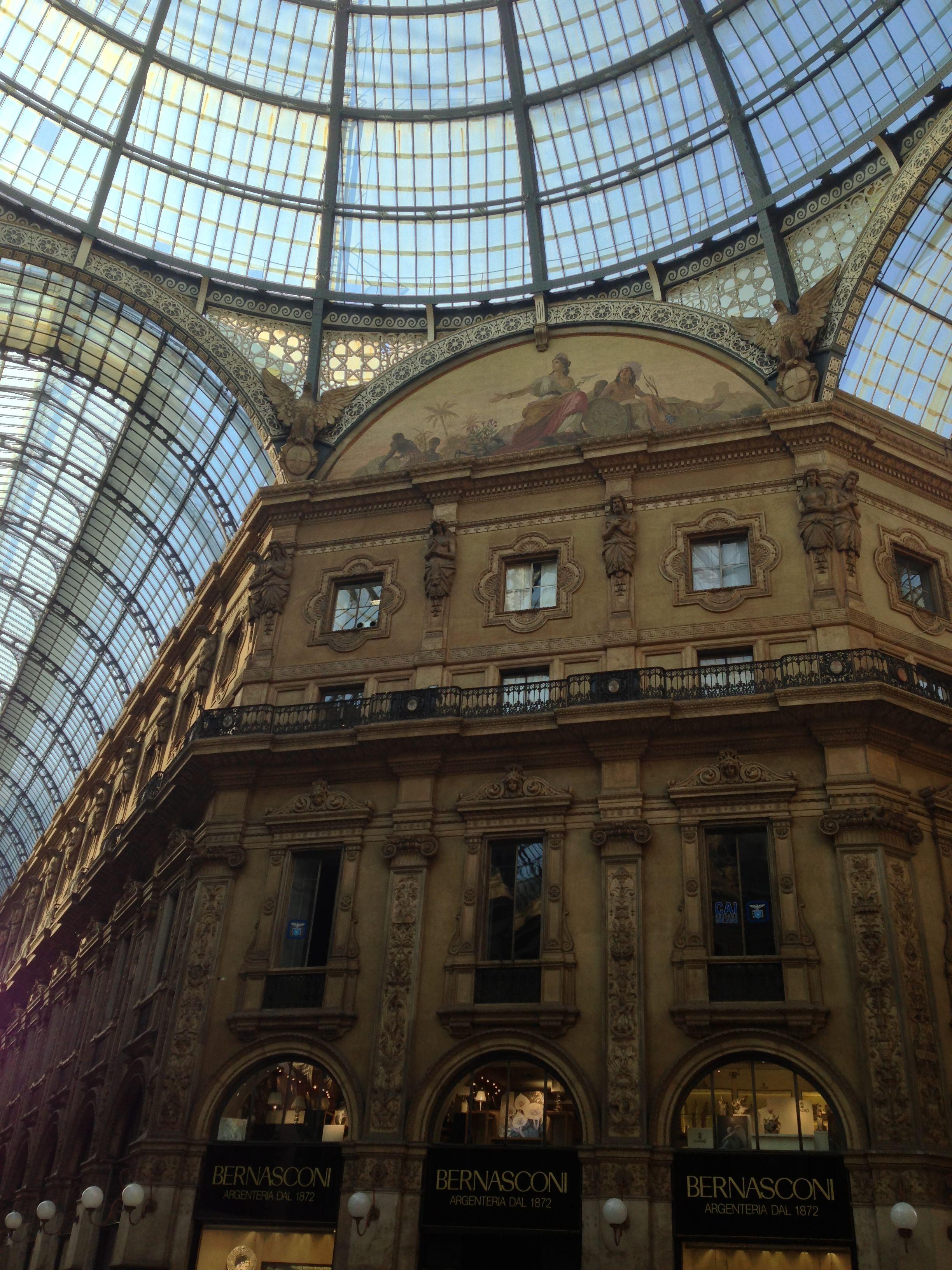 Galleria Vittorio Emanuel. (With images) Galleria, Italy