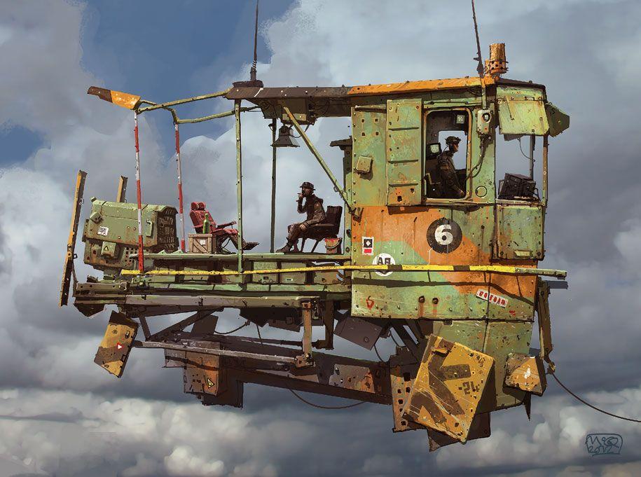 Ian McQue an artist that inspires STEAMPUNK