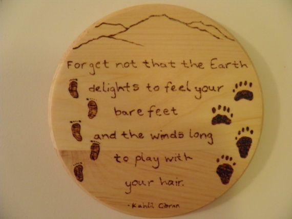 bear feet...