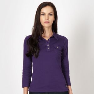 MAINE NEW ENGLAND Dark purple pocket button top Was £20.00  Now £14.00