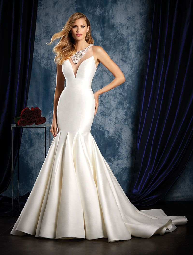 Wedding gown gallery bridal collection gowns and weddings wedding gown by alfred angelo sapphire bridal collection ombrellifo Choice Image