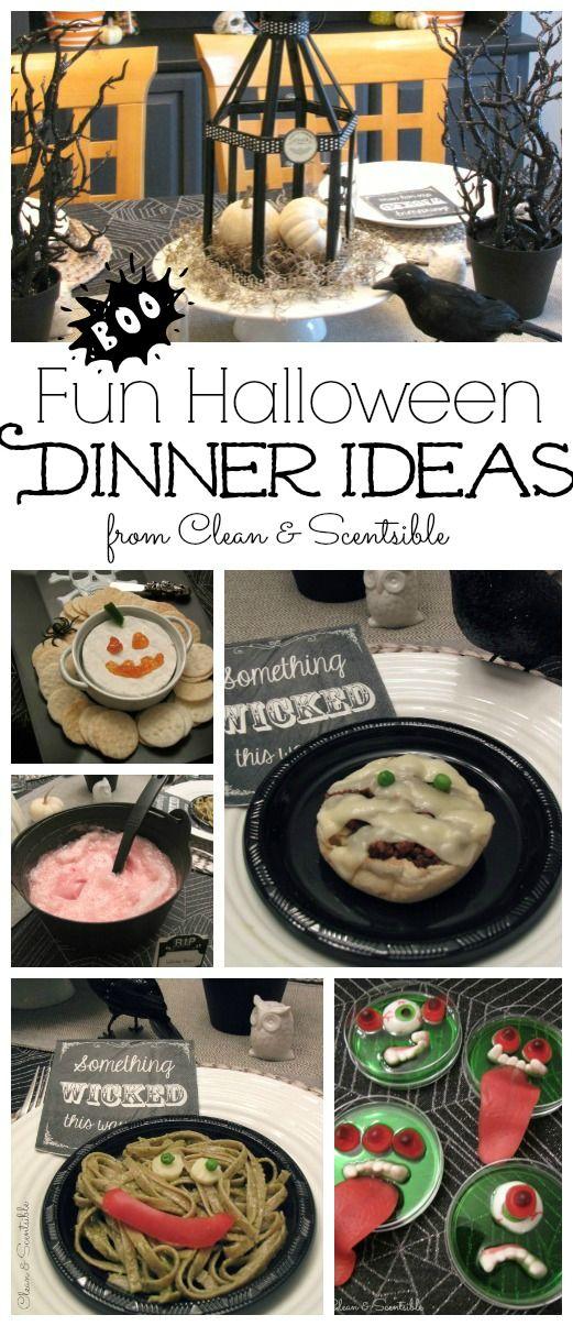 Fun Halloween Dinner Ideas Dinner ideas, Halloween ideas and Dinners - fun halloween ideas
