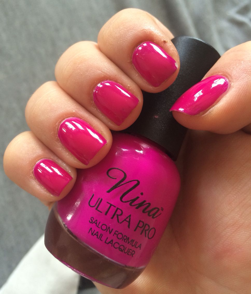 9. Nina Ultra Pro: Punki Purple | Nail Polish Swatches | Pinterest ...
