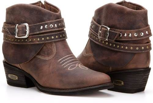 Bota Texana Feminina Country Bordada Montaria Capelli Boots - R  229 ... 043fc97b38f