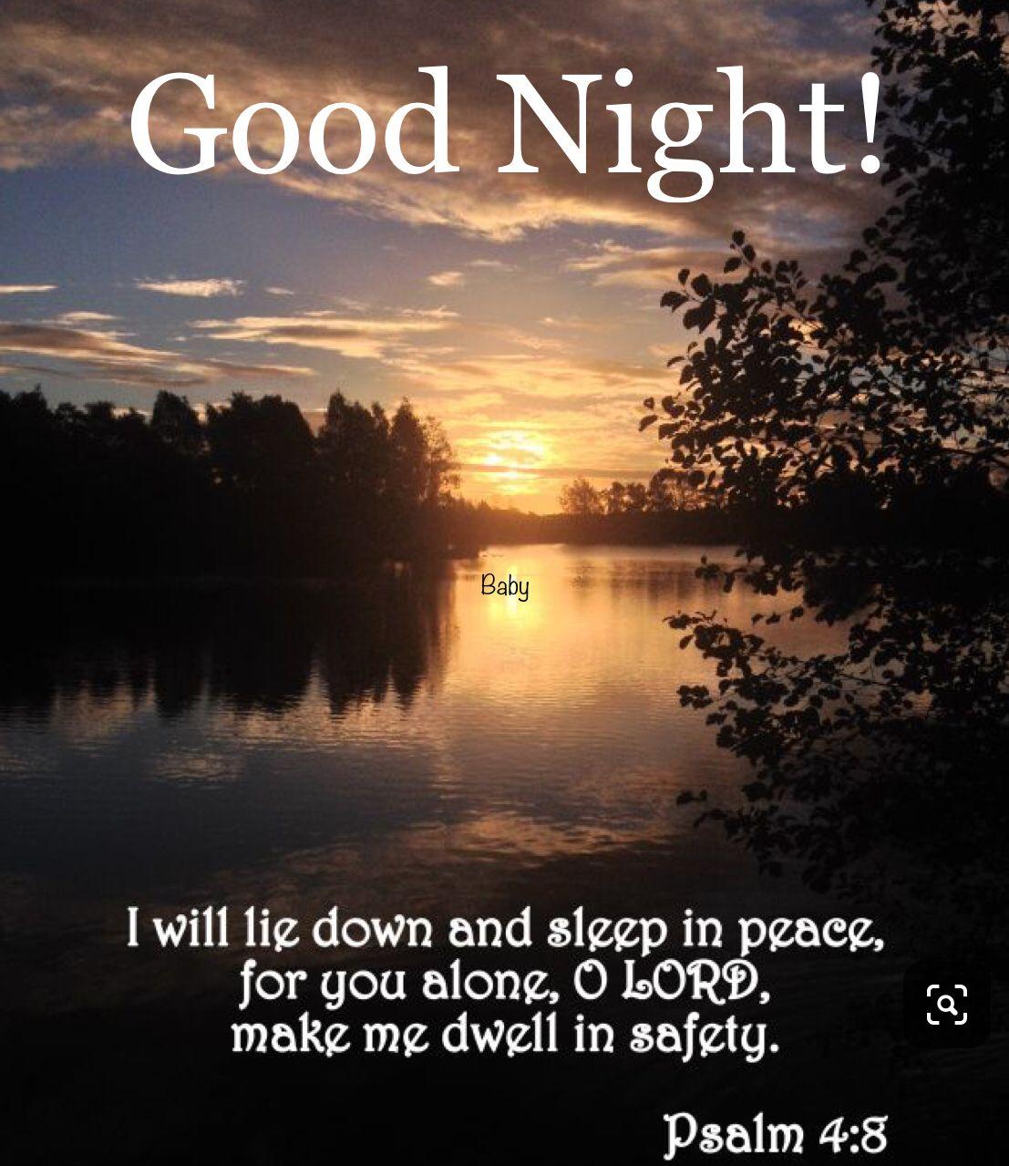 Good Night Good Night Blessings Good Night Bible Verse Good Night Prayer