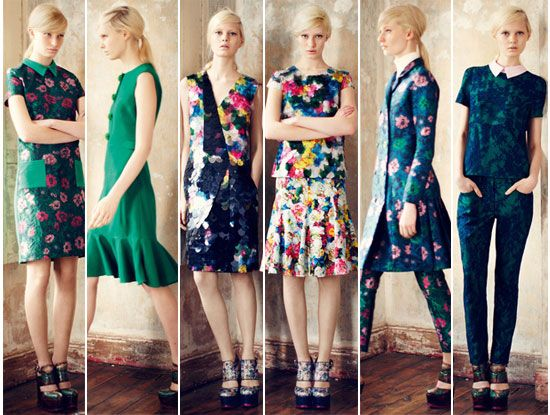 It's so wrong, it's got to be right. Erdem shows us how too much of something, can be just right.