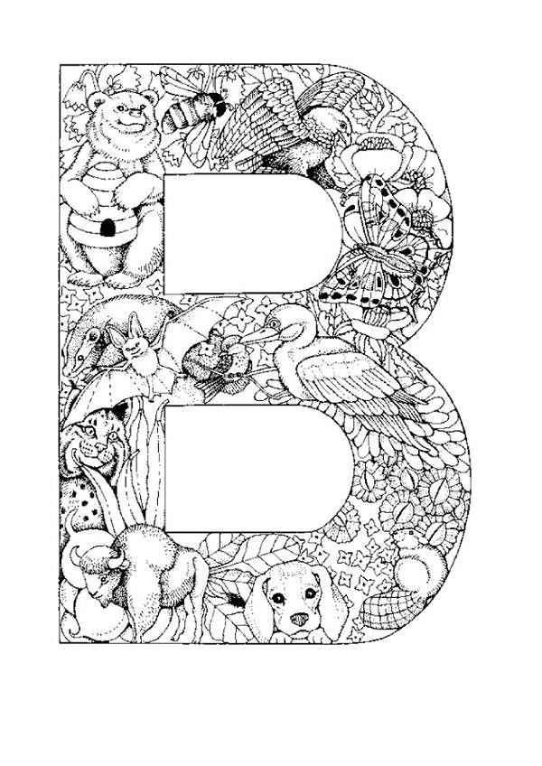 Actividades Para Ninos Preescolar Primaria E Inicial Alfabetos Infantiles 35 Animal Alphabet Ausmalbilder Ausdrucken