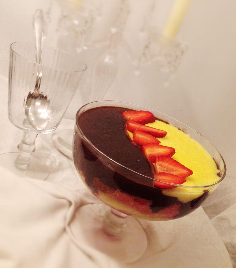 zuppa inglese, un dolce di quando ero bambina. puro #comfortfood #foodies #italianfood #foodblogger