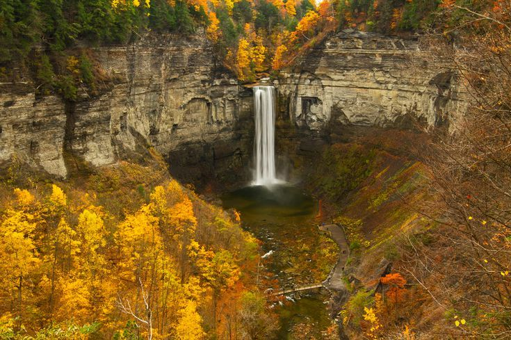 9 Scenic Fall Drives in New York State #autumninnewyork