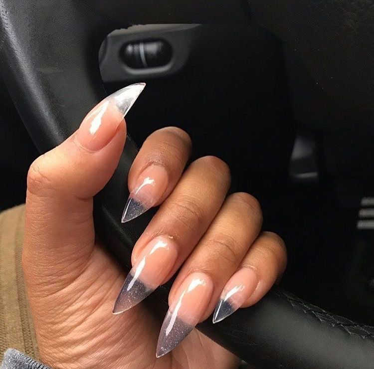 Clear gel nails | Nails Boo | Pinterest | Clear gel nails, Manicure ...